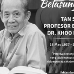 UM MOURNS PASSING OF COUNTRY'S PROMINENT HISTORIAN, TAN SRI EMERITUS PROFESSOR DR. KHOO KAY KIM